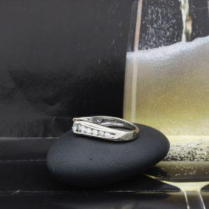 14k white gold ring 1.05ctw