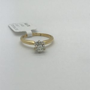 18K Diamonds Solitaire
