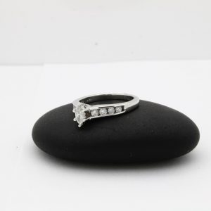 .75ctw White gold engagement ring