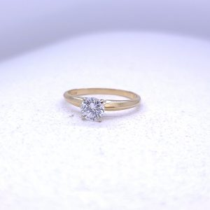 .54Ct Solitaire engagement ring