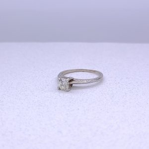 .51ct Solitaire with soft feminine details